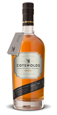 Cotswolds Single Malt Whisky bottle