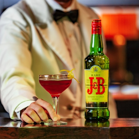 J&B Rare cocktail at The Beaumont Hotel London